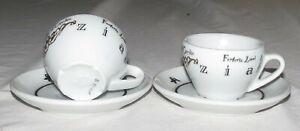 Starbucks-Venezia-D-Reinhart-TWO-Cappuccino-Cups-Saucers