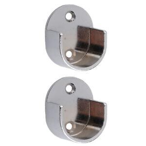 Bevorzugt 2 Stück Gardinenstange Halterung | eBay XI41
