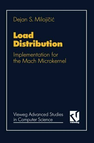 Load Distribution  Implementation for the Mach Microkernel  Vieweg Ad