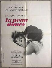 Affiche LA PEAU DOUCE Jean Desailly FRANCOISE DORLEAC François Truffaut 60x80cm