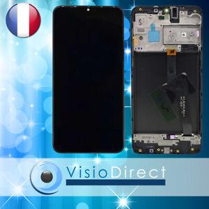 Ecran-complet-pour-Samsung-Galaxy-A10-SM-A105F-6-2-034-Vitre-LCD-sur-chassis-NOIR