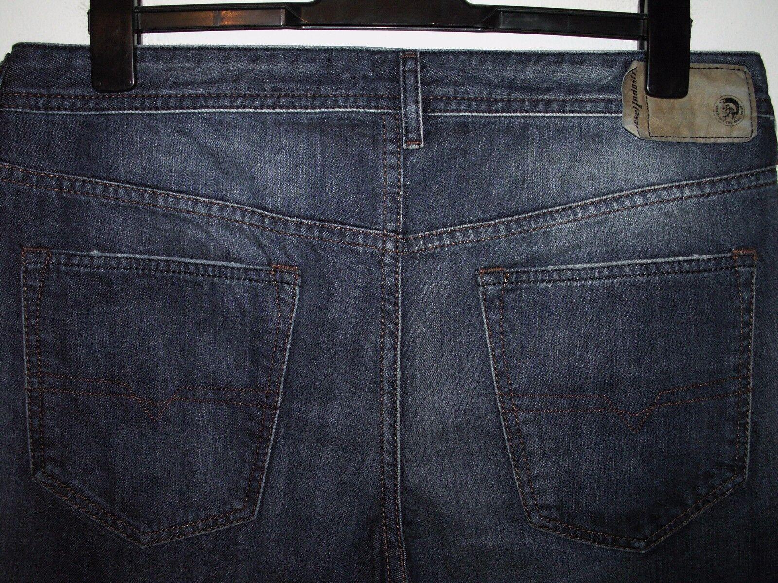 Diesel buster regular slim-tapered fit jeans wash 0838B W36 L30 (a3164)