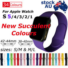 Sports Silicone Bracelet Strap Band For Apple iWatch Series 5_4_3_2, 38/42mm NEW