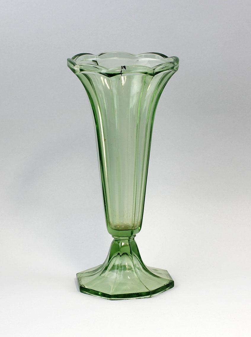 Verte vase art art art deco de 1920/30 mehrpassig cloches en forme 99835055 cd04f7