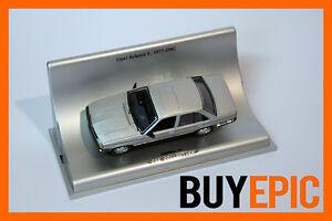 Schuco-Opel-Rekord-E1-4-portes-1-43-Argent-Maquette-de-voiture-Car-Collection