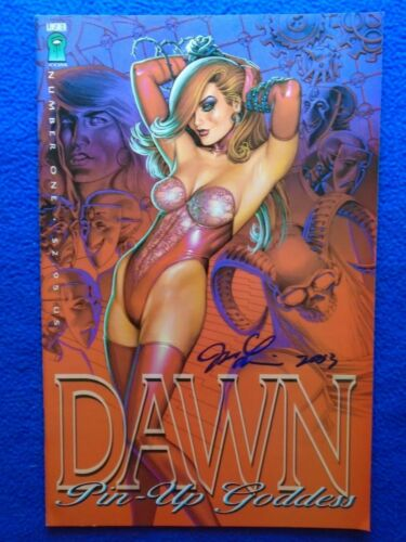 DAWN PINUP CODDESS SIGNED BY LINSNER!