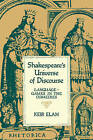 Shakespeare's Universe of Discourse: Language-Games in the Comedies by Keir Elam (Paperback, 1984)