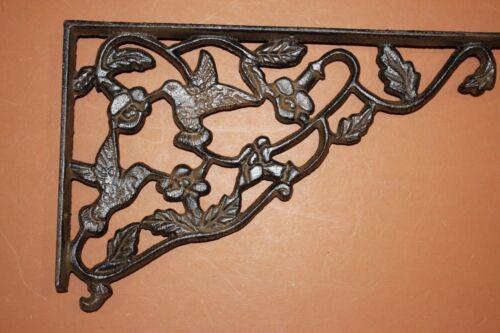Hummingbird Garden Patio Braces Brackets Solid Cast Iron,11 7//8 inches B-40