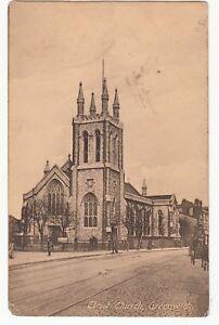 Postcard-CHRIST-CHURCH-GREENWICH-Ref-A12