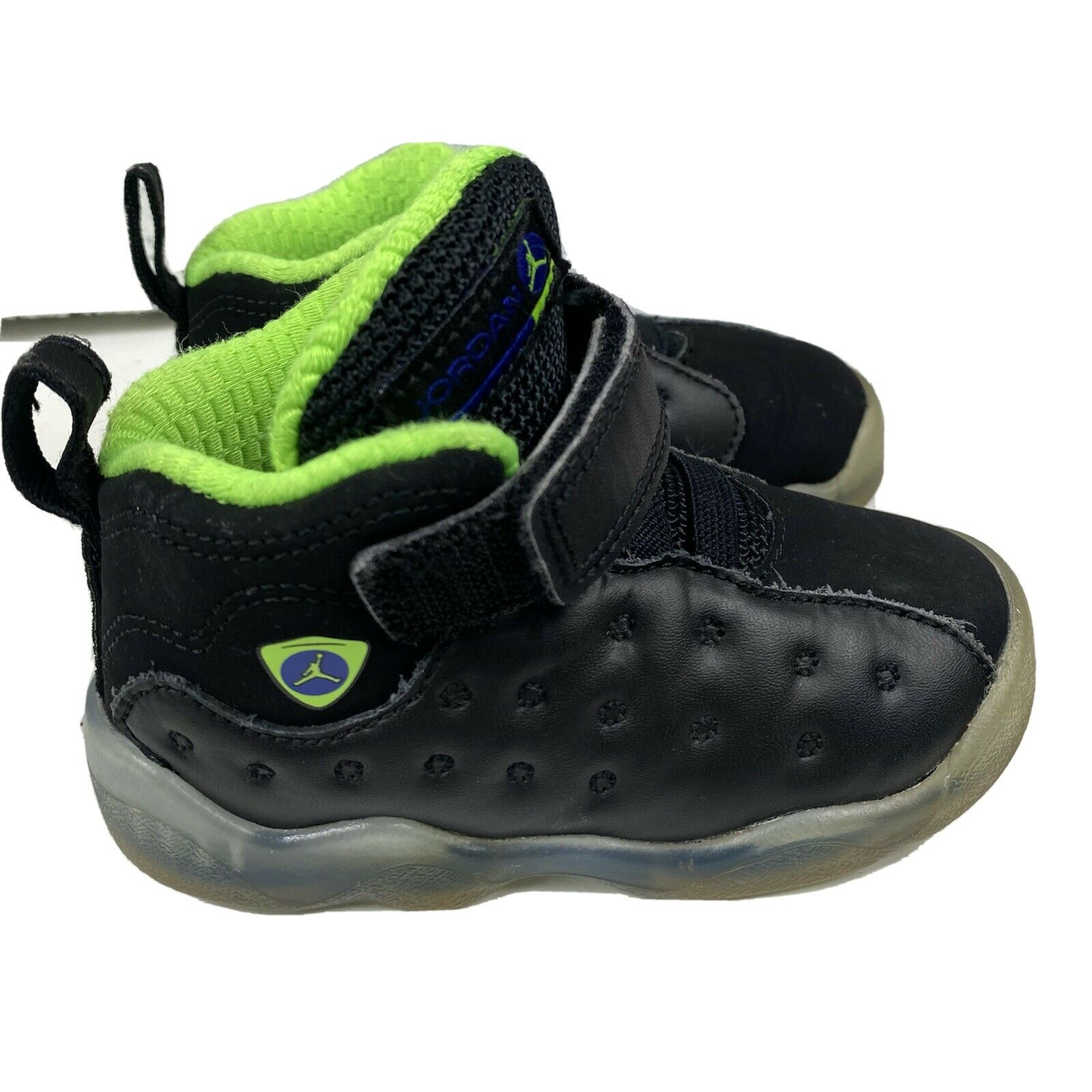 Nike Air Jordan Jumpman Team II PS 2016 Shoes Black 845202-017 Youth Size 3y