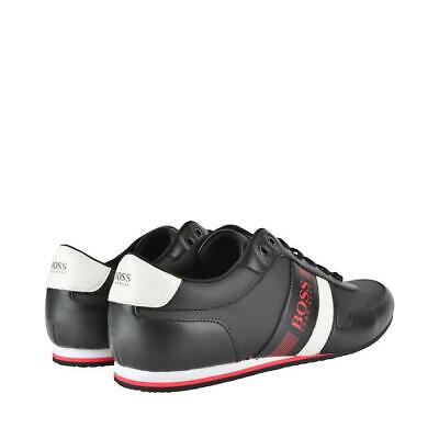 Hugo Boss Basse Sneaker Uomo Drive Tg Uk 7-eu Taglia 41 In Scatola Nuovo Prezzo Consigliato £ 159-mostra Il Titolo Originale