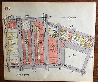 139 /& P.S WEST STREET P.S 1917 FLATBUSH BROOKLYN NY EAST 17TH 179 Atlas Map