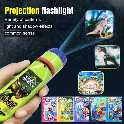 Toys for 1 to 6 Year Old Girls Boys Kids Torch Projector Educational Xmas Gift