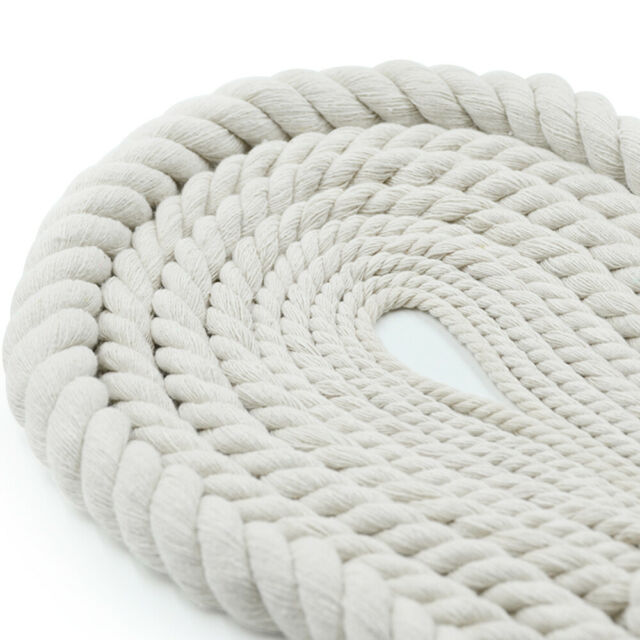 Indoor//Outdoor Crafts 3//16 inch - 1.5 inch 100/% Natural Cord High Strength Low Stretch No Bleach//Dyes Commercial SGT KNOTS Twisted Cotton Rope DIY Projects 10 ft - 1200 ft Pet Toys