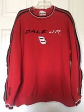 NASCAR Dale Earnhardt Jr #8 Red Sweatshirt By Chase Authentics ~ Size XL