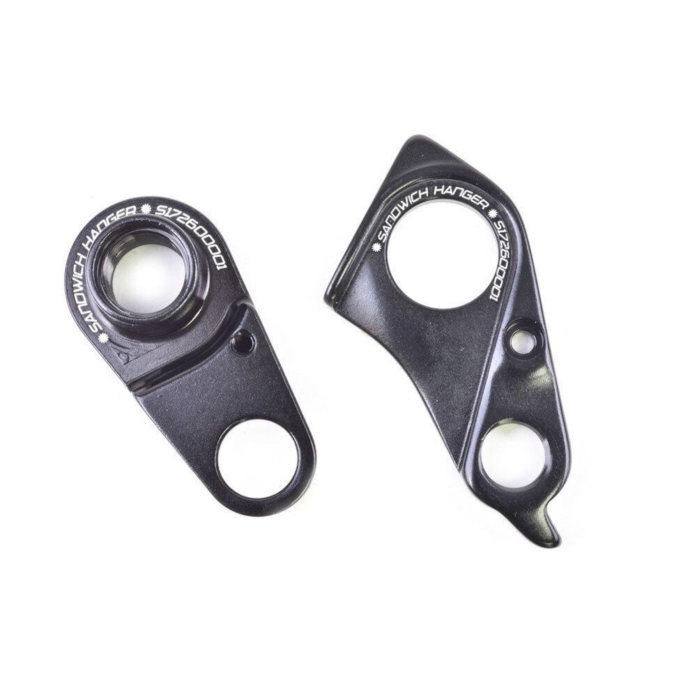 WHEELS MFG Schaltauge CNC TYPE 323 Specialized schwarz Fahrrad  | Passend In Der Farbe