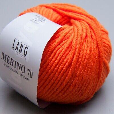 LL 70m 50g Nadelstärke 6-7 Lang Yarns Merino 70-59