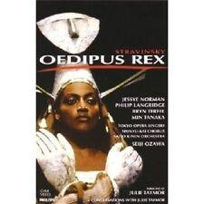 NORMAN/LANGRIDGE/TERFEL/OZAWA/UA - OEDIPUS REX DVD NEU