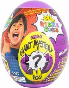 New-amp-Sealed-RYAN-S-WORLD-Giant-Mystery-Purple-Egg-Series-3-Surprise-Ryans-Egg
