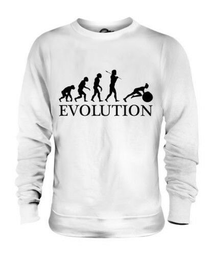 Suiza Gimnasio Bola Evolution Of Man Unisex Suéter Regalo Hombre Mujer 75CM
