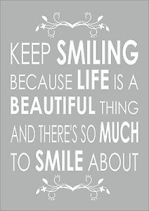 marilyn monroe quote keep smiling because life is a inspiring
