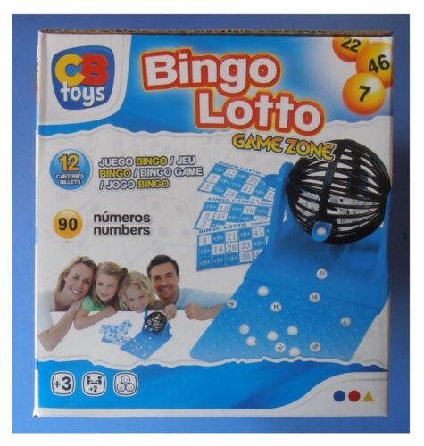 Set Tombola Bingo lotto lotteria ruota estrazioni 90 numeri OMAGGIO 36 cartelle
