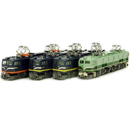 Kato 10 -260 Elektriska lokomotiv EF58 särskildutgåva 4 lokomotiv Set - N