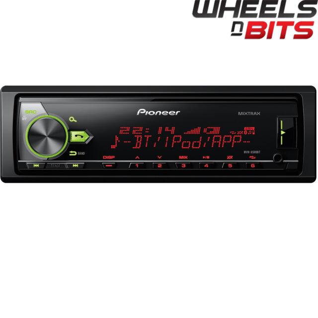 Pioneer mvh-x580bt Mechless BLUETOOTH MP3 USB estéreo de Coche Entrada Auxiliar