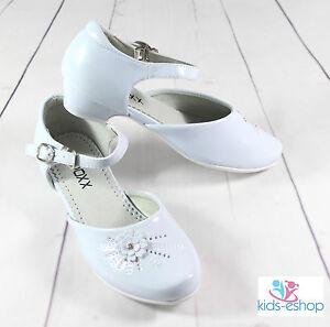 flower girl dress shoes white