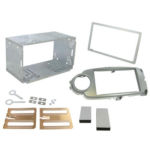 Ct23ty32 TOYOTA YARIS 2012-2013 double din Fascia Panneau Avant Kit Adaptateur Panneau