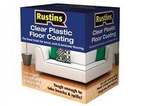 Rustins RUSPFCS1L Plastic Floor Coating Kit Satin 1 Litre
