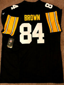Image is loading Pittsburgh-Steelers-84-Antonio-Brown-Home-Limited-Jersey d944801c9