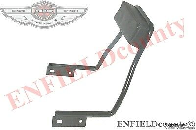 REAR PASSENGER BACK REST GRAB BAR BLACK ROYAL ENFIELD CLASSIC BIKE SPARES2U