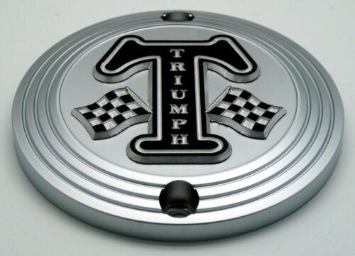 Clutch Badge Triumph T120 Bonneville Thruxton Scrambler Speed Street Twin Bobber