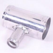 AutoSiliconeHoses 51mm OD Mirror Polished Finish 135 Degree Alloy Elbow Hose