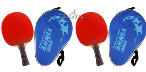 Yinhe milky way tennis de table chauve-souris étui noir ittf approuvé caoutchoucs 06B uk p/&p
