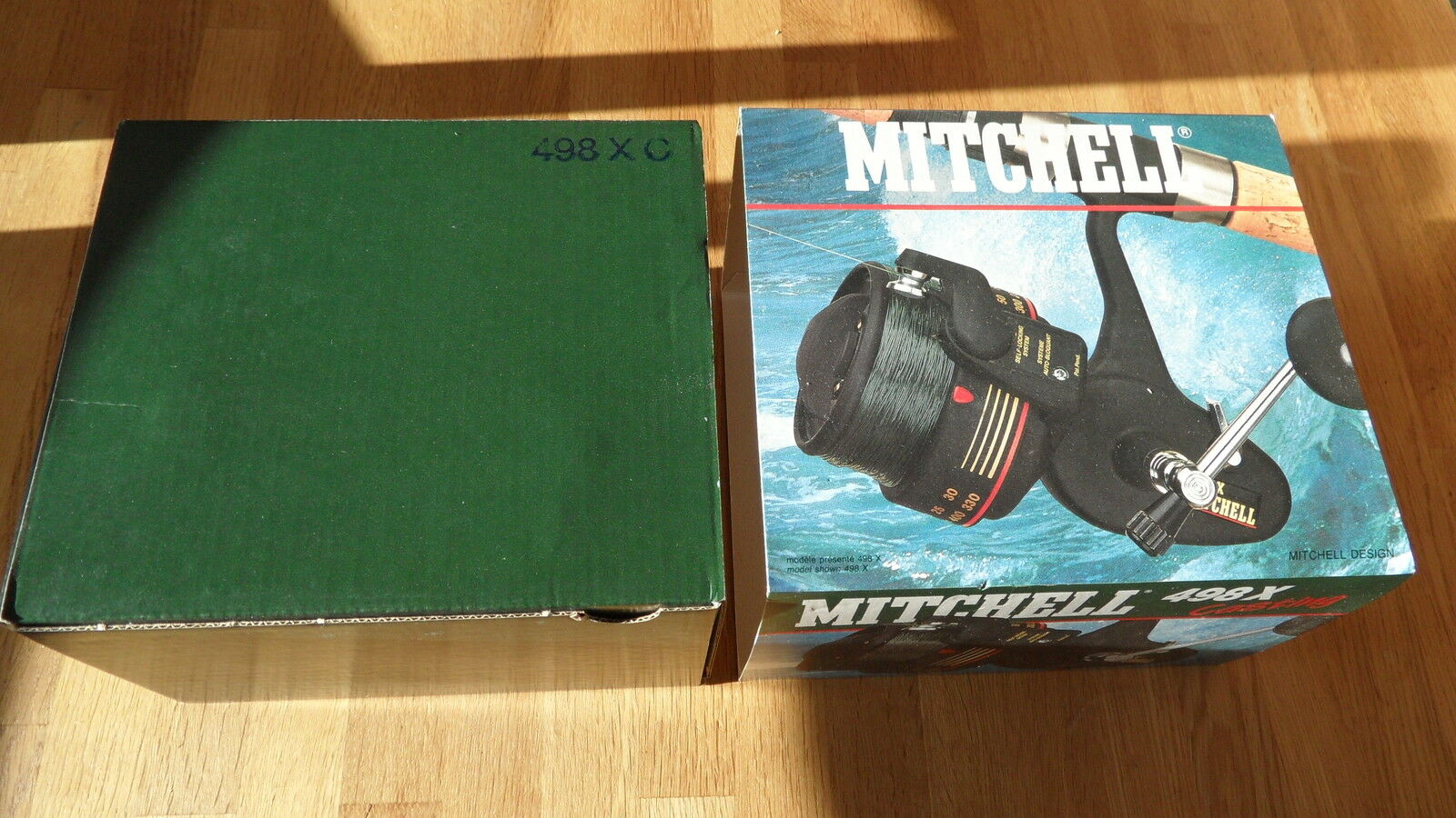 Mitchell 498x Casting zeewerpmolen Sea reel Peché moulinet