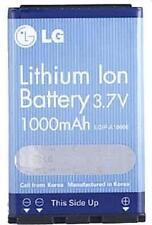 New OEM LG LGIP-A1000E VX8300 VX8100 VX6100 VX3400 VX3300 VX3200 Battery