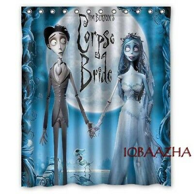 Vincent Tim Burton Custom Polyester Shower Curtains 60x72 Inch