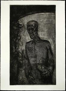 DDR-Kunst-Leipziger-Schule-1984-Radierung-Sighard-GILLE-1941-D-handsigniert