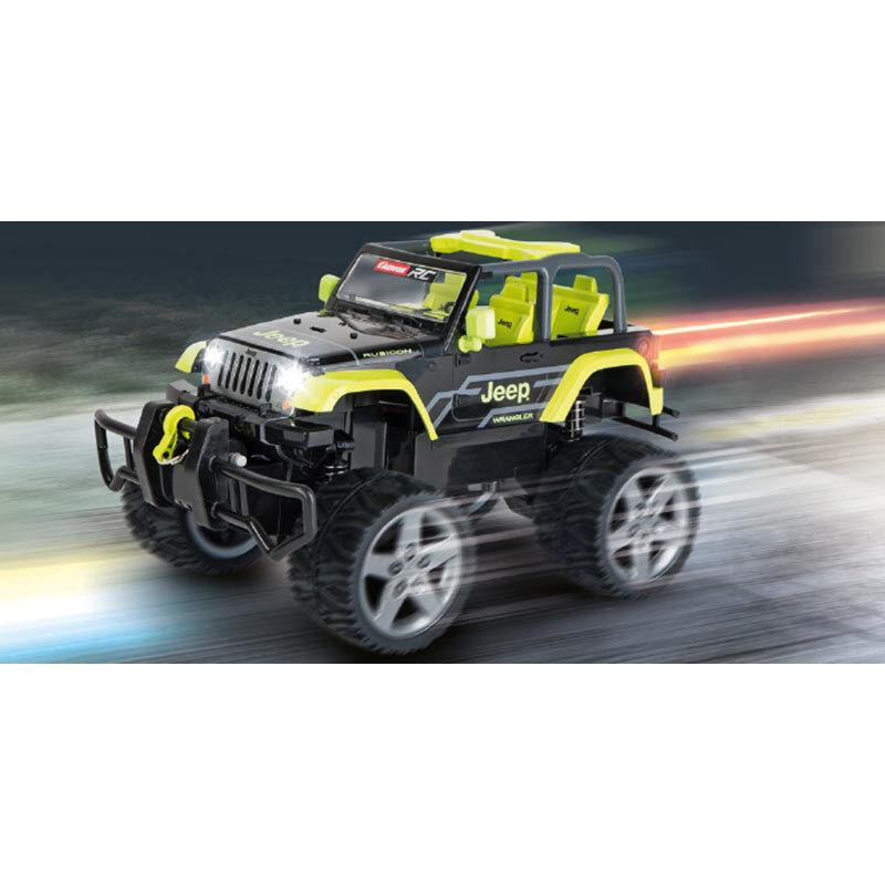 CARRERA RC 1 16 Jeep Wrangler Rubicon with Winch 2.4GHz Ready to Run Car 162104