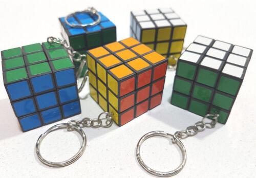 Keyring Magic Cube 3 cm for enrolment in school bag