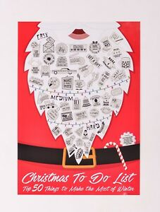 image is loading christmas scratch off to do list poster christmas