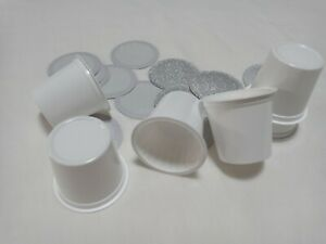 Empty K Cups with Sealed Filter Paper and 2.0 Lid for Keurig Single Serve Coffee
