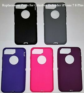 buy popular da088 110eb Details about Replacement For iPhone 7 8 Plus Outer Rubber Silicone Skin  Fit OtterBox Defender