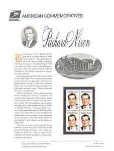 456-32c-President-Richard-Nixon-2955-USPS-Commemorative-Stamp-Panel