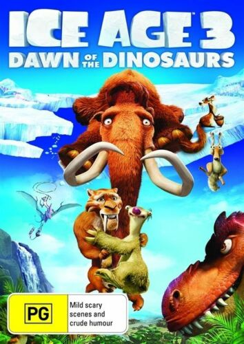1 of 1 - Ice Age 3 - Dawn Of The Dinosaurs (DVD, 2009)*R4*Terrific Condition