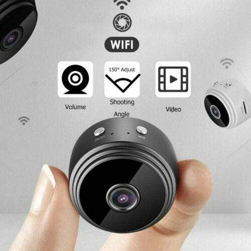 1080P Mini Kamera Wireless WiFi WLAN IP Überwachungkamera Hidden Spion Camera