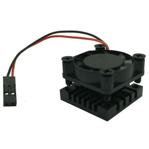 Cooler-Kit-For-Raspberry-Pi-3-B-Cooling-Fan-Aluminum-Heatsink-25-25-16mm