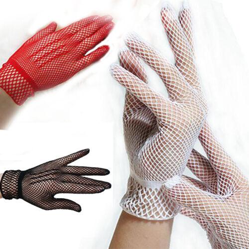 1 Paar Fishnet Mesh Handschuhe Frauen Handschuhe Sommer Schutz Spitze Handschuh